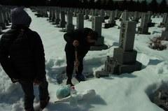 お墓発掘…今年は楽ちん.jpg