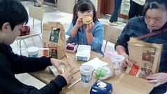 お昼ごはんはフードコートでマクド〜.jpg