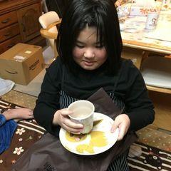 イーヴイのコップと皿と….jpg