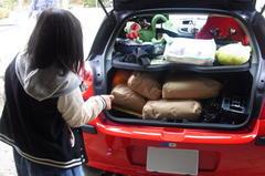 トランクに60kgの米を積載!.jpg