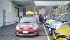 ルノー札幌さんに到着.jpg
