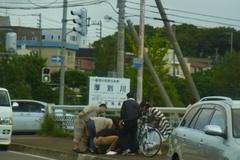 交通事故があった模様….jpg