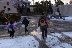 半年以上ぶりの雪道を歩きます.jpg