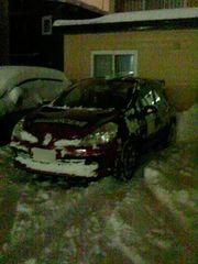 帰って来て雪かきして駐車.jpg