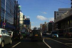 札幌ドーム周辺を避けるのに南郷通で帰ります.jpg