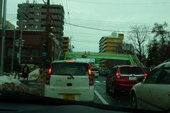 札幌市中心部へと向かいます.jpg