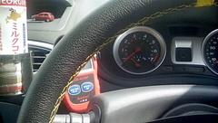 腰が痛いので、車で待機中….jpg