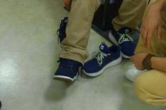 靴を試履中。.jpg