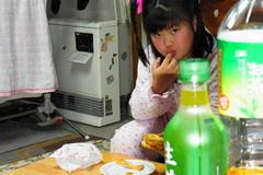 食欲旺盛な友希ちゃん(笑).jpg
