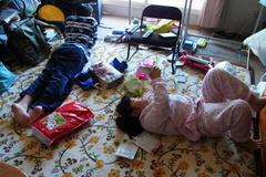 25日の朝は…この惨状^^;….jpg