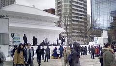 HTBこーなーの大雪像とステージ.jpg